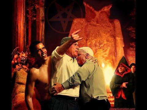 Okkulte Elite im Bohemian Grove des Skull and Bones