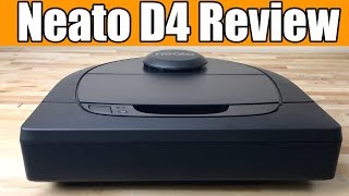 Neato Robotics D4 Robot Vacuum Review - In Depth Tests!