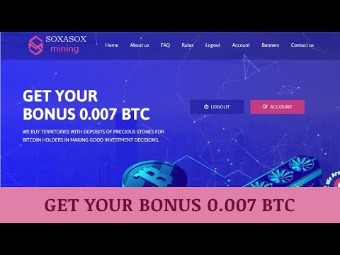 Soxasoxmining.com отзывы 2019, mmgp, обзор, Cryptocurrency Cloud Mining, get Free BONUS 0 007 BTC