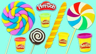 How To Make Yummy Looking Play Doh Lollipops | Fun & Easy DIY Play Dough Art!