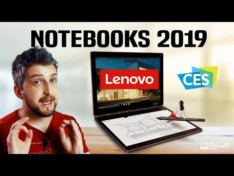 Notebook Lenovo 2019 Novidades e lançamentos Gamer | 2 em 1 na CES