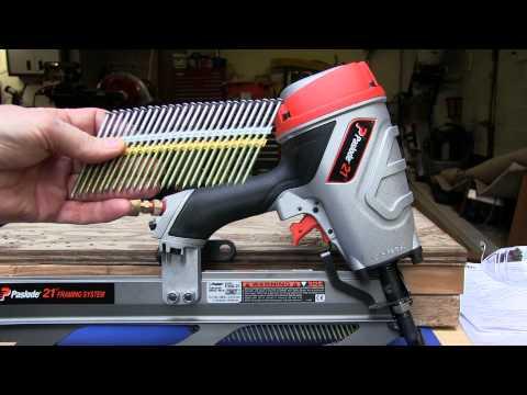 Paslode Pneumatic F350-21° Framing Nailer-514000 - The Home Depot