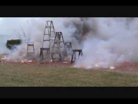 320,000 Exploding Firecrackers Make For A Great Funeral