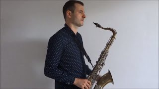 Dua Lipa   New Rules [Saxophone Cover] By Juozas Kuraitis