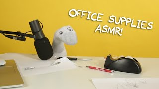 Office Supplies ASMR | Puppet ASMR with Todd Socket
