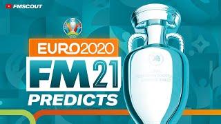 Football Manager PREDICTS Euro 2020