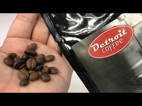 Detroit Coffee medium roast whole coffee beans