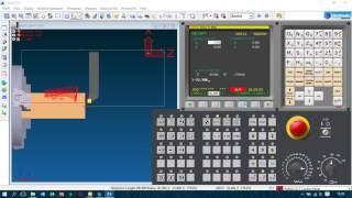 Tutorial Simulasi CNC Turning Fanuc Oit Swansoft