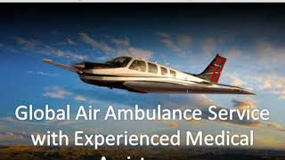 Global Air Ambulance from Jabalpur at Economic-cost