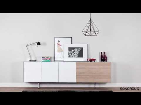 TV Möbel Lowboard Sideboard Sonorous