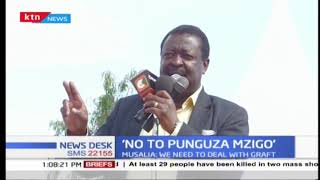 'No to punguza mzigo' Musalia Mudavadi continues onslaught on Ekuru's bill