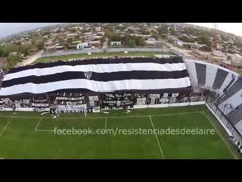 """""""Club Atlético CHACO FOR EVER - Resistencia desde el Aire"""" Barra: Los Negritos • Club: Chaco For Ever"""