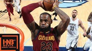 Cleveland Cavaliers vs Memphis Grizzlies Full Game Highlights / Feb 23 / 2017-18 NBA Season