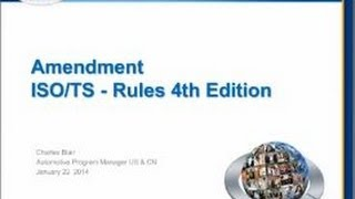 TS16949 Rules 4th Edition Updates Training - UL DQS Inc.