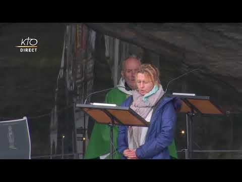 Messe de 10h à Lourdes du 4 février 2021