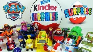 Щенячий Патруль Большой Киндер Сюрприз - Сюрпризы и Игрушки для детей
