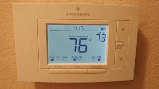 Emerson Smart Thermostat (Sensi App) NOT HEATING UP?