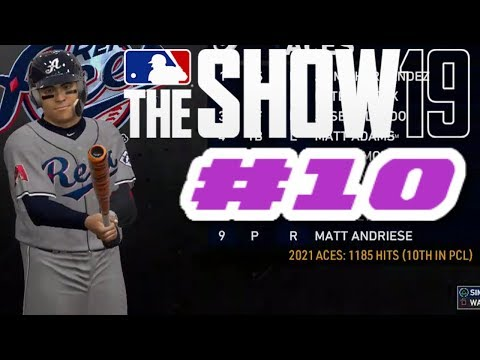 MLB The Show 19 PS4 Road To The Show - BATTING WITH ZONE INTERFACE