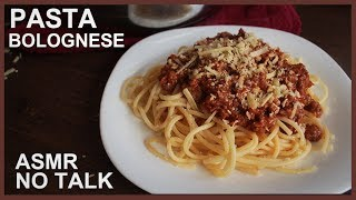Pasta Bolognese - No Talk ASMR cooking recipe