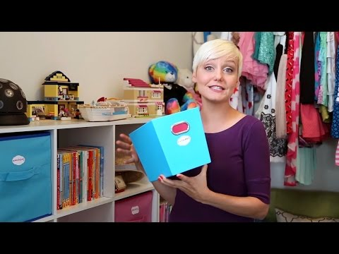 How to Organize: The Kids Room