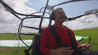 Goin' To The Lake: Maxie Takes Flight In Powered Parachute