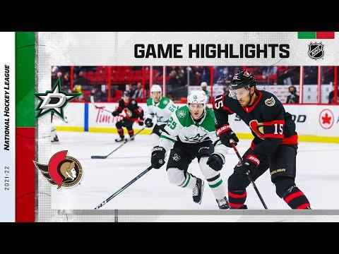 Ottawa Senators vs Dallas Stars</a> 2021-10-17