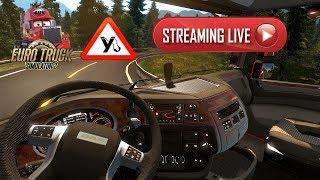 Euro Truck Simulator 2 Стрим💥Нелёгкая поездка💥Дальнобой💥