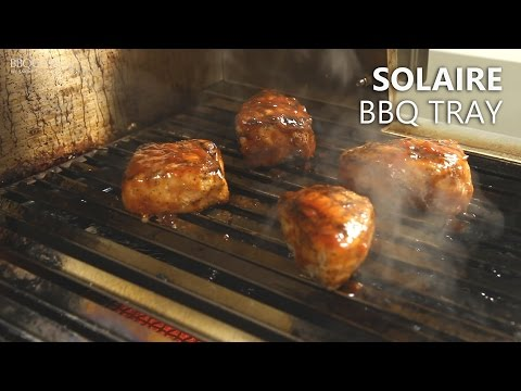Solaire BBQ Tray Accessory for Indirect Cooking