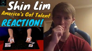 Shin Lim Proves Magic Is Real With Unbelievable Card Tricks - America's Got Talent REACTION!