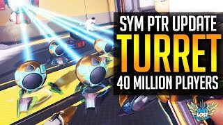 Overwatch - Sym PTR Update! / Dapper Skin TEASE! /40 Million Players!