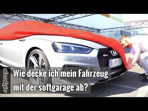 Wie decke ich mein Fahrzeug mit der softgarage ab? https://www.softgarage.de (EN SUB)