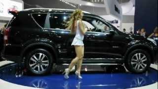 Международная автомобильная выставка в Москве 2012г