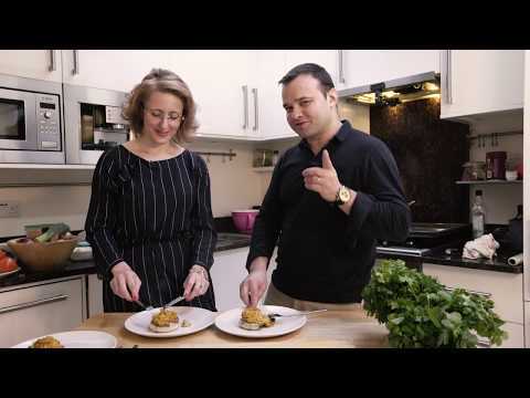 Cooking Lessons - Intro - 5 Flavours of Health - Filled Portobello Mushrooms - Agnes Khan