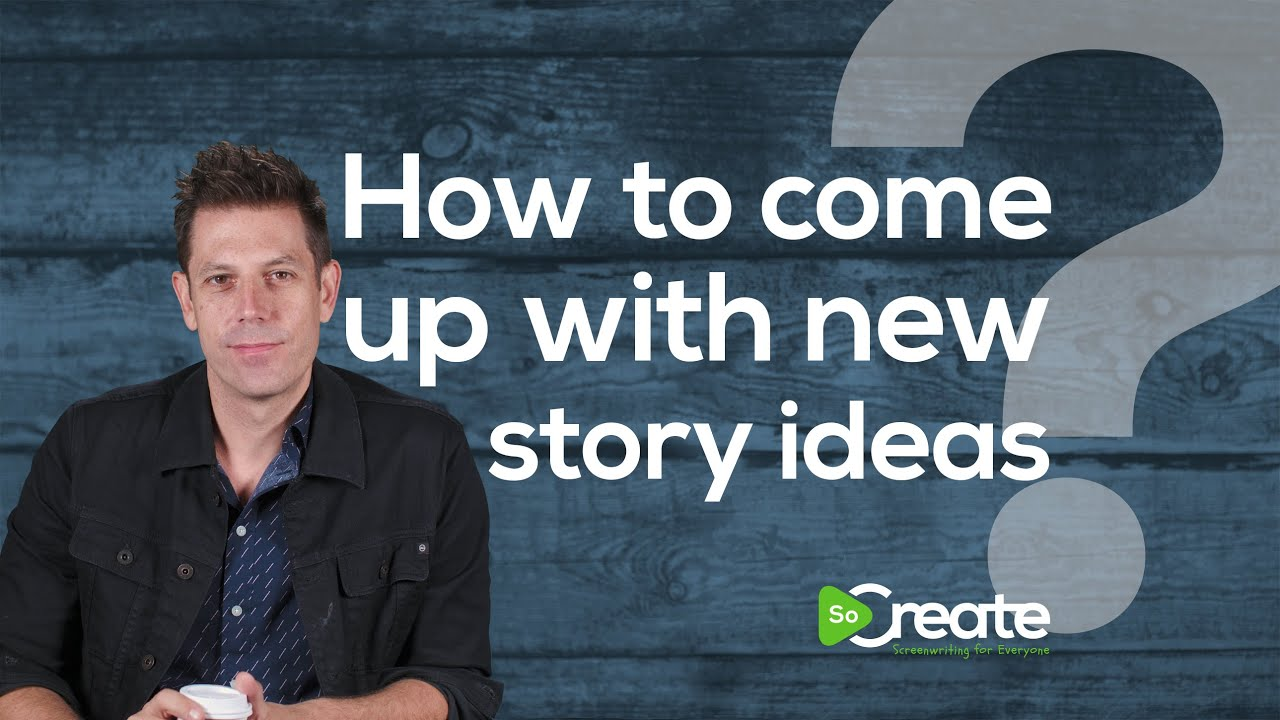 How to Come Up With New Story Ideas for Your Screenplay, with Disney Writer Ricky Roxburgh
