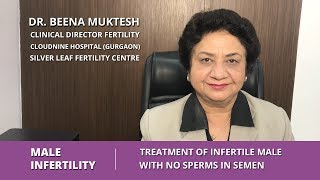 Male Infertility - Treatment of Infertile Male with No Sperms in Semen