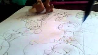 Fnaf comic. Drawings by me! - Video Youtube