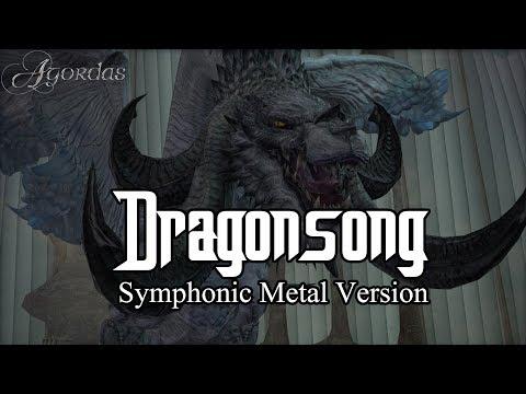 Dragonsong (Final Fantasy XIV: Heavensward main theme) Symphonic Metal Cover