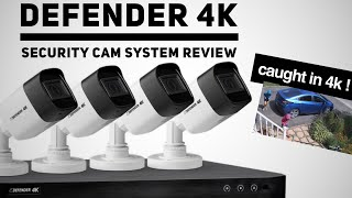 DEFENDER 4K Security Camera System Review  - A Good LOREX or SWANN Alternative ?