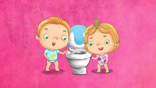 Apprentissage de la propreté Dessin animé Titounis - T´choupi va sur le pot