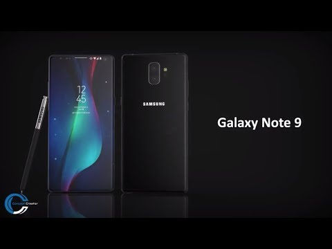 Samsung Galaxy Note 9 in uno splendido video concept
