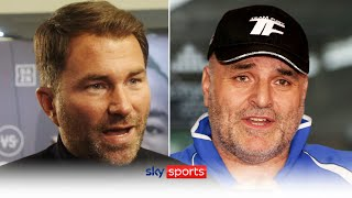 """""""Do you not want this fight?!""""   Eddie Hearn responds to the critics surrounding Joshua vs Fury"""