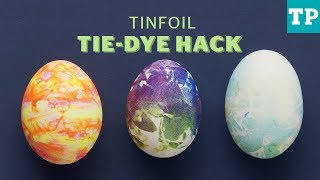 How To Make Tie-dye Easter Eggs (mess-free!) | Easter Crafts