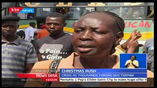 Crisis in bus terminuses as thousands head upcountry for Christmas