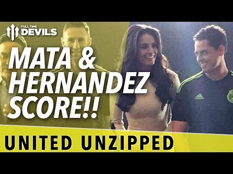Mata & Hernandez Score!!   United Unzipped   Manchester United