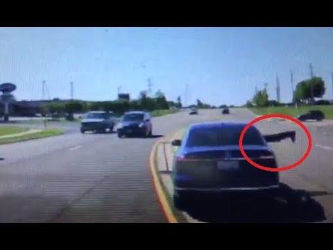 Sprung ins fahrende Auto