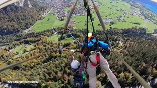 Man Hangs On For Life In Terrifying Hang Gliding Mishap | NBC 6