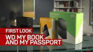 WD's new My Book and My Passport external drives