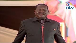 Moi is not a dynasty: Raila — VIDEO