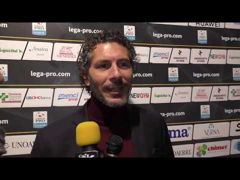 Arezzo-Alessandria 1-1, intervista a mister Dal Canto