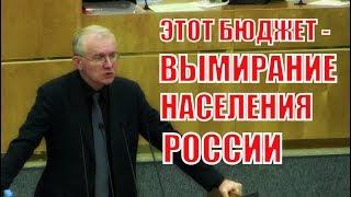 Выступление Депутата ГД Шеина о бюджете Пенсионного Фонда и Фонда Соцстрахования!